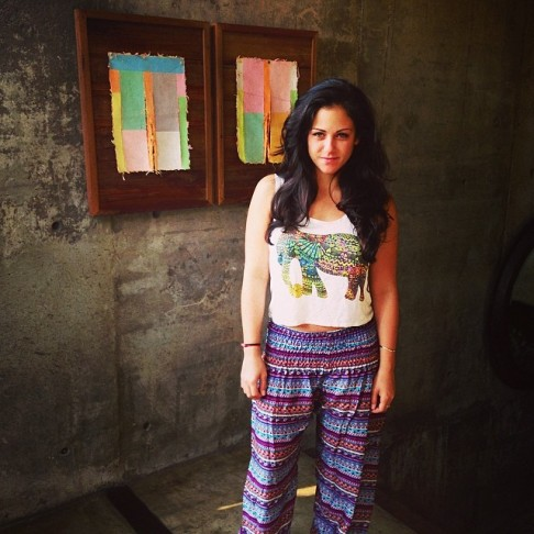 Fun printed pants I bought at the night bazaar