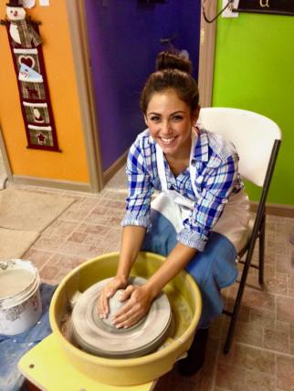 Sign up for a pottery class